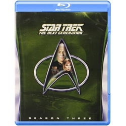 Star Trek: The Next Generation - Season 3 Blu-ray Cover