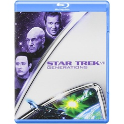 Star Trek VII: Generations Blu-ray Cover