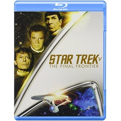 Star Trek V: The Final Frontier Blu-ray Cover