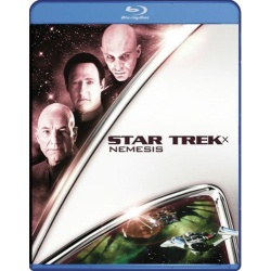 Star Trek X: Nemesis Blu-ray Cover