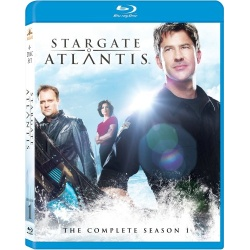 Stargate Atlantis: The Complete Season 1 Blu-ray Cover