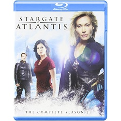 Stargate Atlantis: The Complete Season 2 Blu-ray Cover