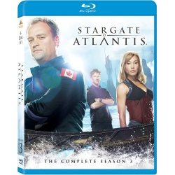 Stargate Atlantis: The Complete Season 3 Blu-ray Cover