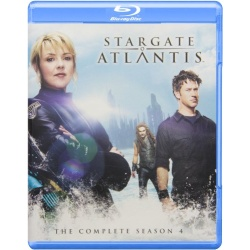 Stargate Atlantis: The Complete Season 4 Blu-ray Cover