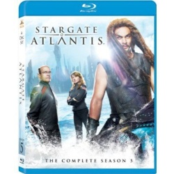 Stargate Atlantis: The Complete Season 5 Blu-ray Cover