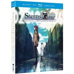 Steins;Gate: The Movie - Load Region of Deja Vu Blu-ray Cover
