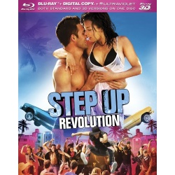 Step Up Revolution Blu-ray Cover