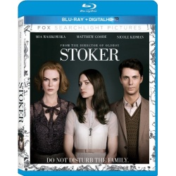 Stoker Blu-ray Cover