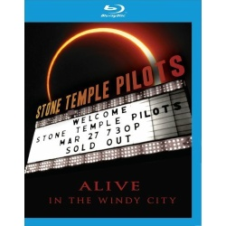 Stone Temple Pilots: Alive in the Windy City Blu-ray Cover