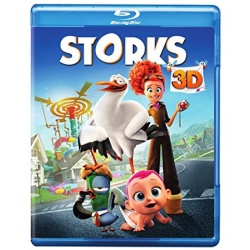 Storks 3D Blu-ray Cover