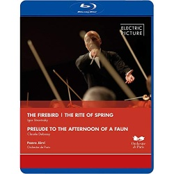 Stravingsky: Firebird / Rite of Spring Blu-ray Cover