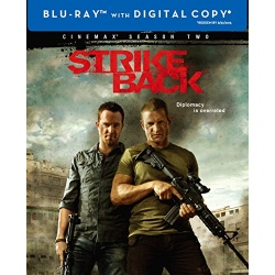 Strike Back: Season 2 Blu-ray Cover