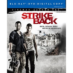 Strike Back: Season One Blu-ray Cover
