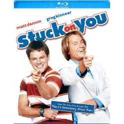 Stuck on You Blu-ray Cover