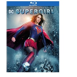 Supergirl: The Complete 2nd Season Blu-ray Cover