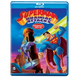 Superman: Brainiac Attacks Blu-ray Cover