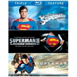Superman: The Movie / Superman II / Superman Returns Blu-ray Cover