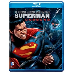 Superman: Unbound Blu-ray Cover