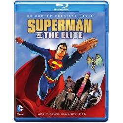 Superman vs. the Elite Blu-ray Cover
