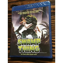 Swamp Thing Blu-ray Cover