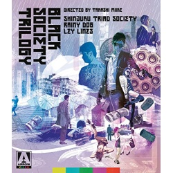 Takashi Miike's Black Society Trilogy Blu-ray Cover
