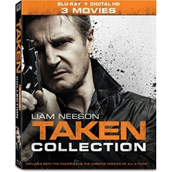 Taken Collection Blu-ray Cover