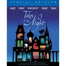 Tales of the Night Blu-ray Cover