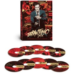 Tarantino XX: 8-Film Collection Blu-ray Cover