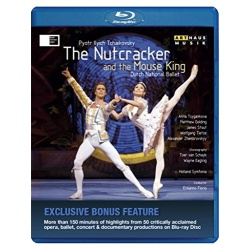 Tchaikovsky: Nutcracker and The Mouse King Blu-ray Cover