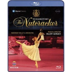 Tchaikovsky: The Nutcracker - Mariinsky Ballet Blu-ray Cover