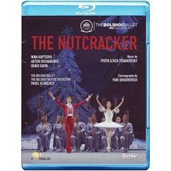 Tchaikovsky: The Nutcracker Blu-ray Cover