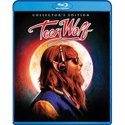 Teen Wolf Blu-ray Cover