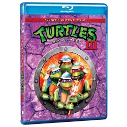 Teenage Mutant Ninja Turtles III: Turtles in Time Blu-ray Cover