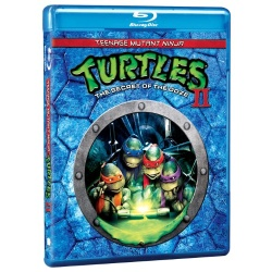 Teenage Mutant Ninja Turtles II: The Secret of the Ooze Blu-ray Cover