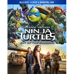 Teenage Mutant Ninja Turtles Out of the Shadows Blu-ray