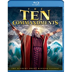 Ten Commandments Blu-ray Cover