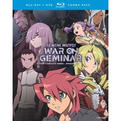 Tenchi Muyo! War on Geminar Blu-ray Cover