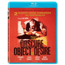 That Obscure Object of Desire Blu-ray Cover