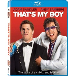 That's My Boy Blu-ray Cover