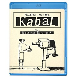 Theatre of Mr. & Mrs. Kabal Blu-ray Cover