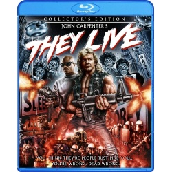 They Live Blu-ray Cover