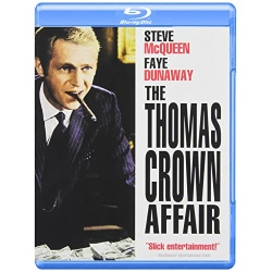 Thomas Crown Affair Blu-ray Cover