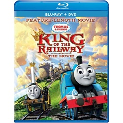 Thomas & Friends: King of the Railway Blu-ray Cover