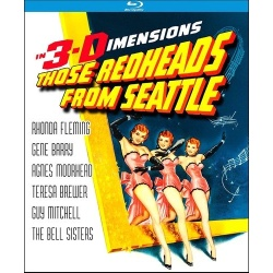 Those Redheads from Seattle Blu-ray Cover