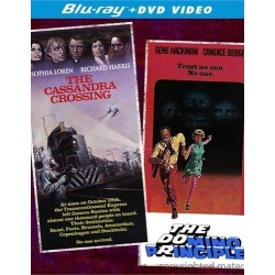 Thr Cassandra Crossing / The Domino Principle Blu-ray Cover