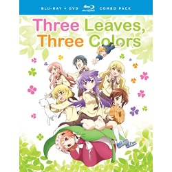 Three Leaves, Three Colors Blu-ray Cover