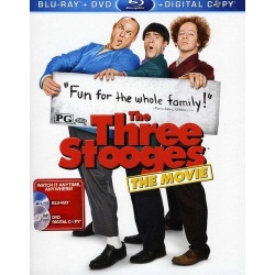 Three Stooges Blu-ray Cover