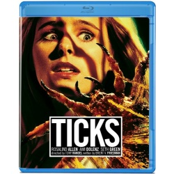 Ticks Blu-ray Cover