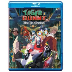 Tiger & Bunny: The Movie - The Beginning Blu-ray Cover