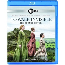 To Walk Invisible: The Bronte Sisters Blu-ray Cover